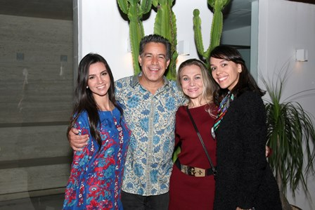 Mariana Coelho, Calainho, Michele Vanzella e Fernanda Gomes