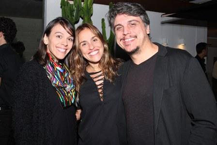 Fernanda Gomes, Lucia de Sá e Alexandre Rangel