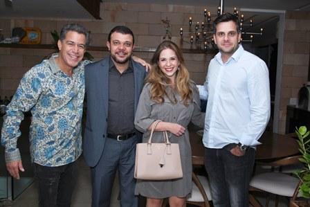 Calainho, Eduardo Jose de Sousa, Hellen Lanfranchi e Luis Otavio Cambraia