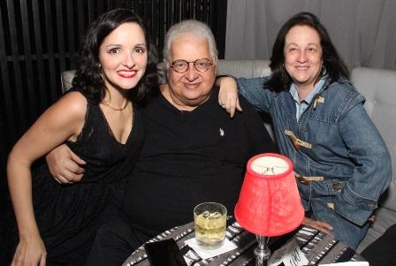 Aline Macedo, Carlos e Beth Serpa