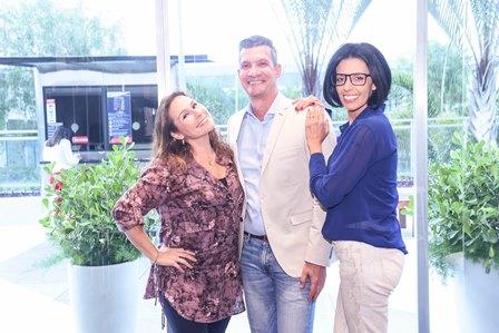 Andrea Filgari Junior Grego e Elaine Ramos