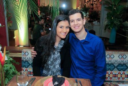 Catharina Dantas e Lucas Silvany