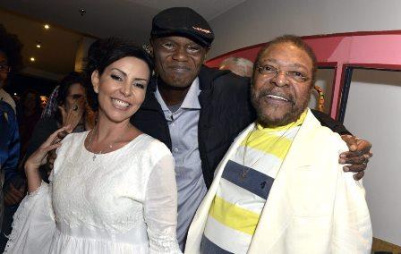 Cléo Ferreira  e  Rappin'Hood  , Martinho da Vila
