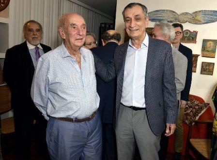 Candido Mendes e Antônio Cícero