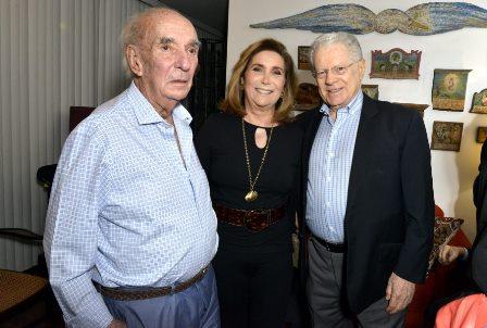 Candido Mendes e Ruth e Arnaldo Niskier