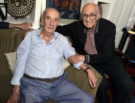 Candido Mendes e Zuenir Ventura