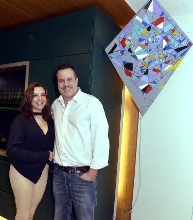 Nicolas Delfino e  Rosa Tavares