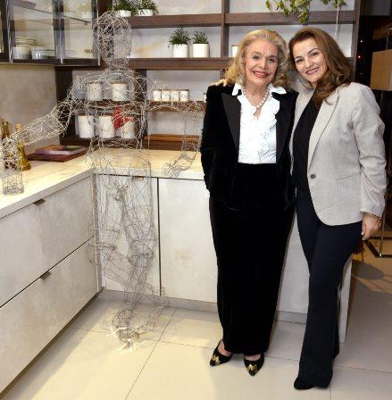 Lourdes Catão  e  Maria Salete da Silva