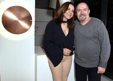 Rosa Tavares e Carlos Hansen