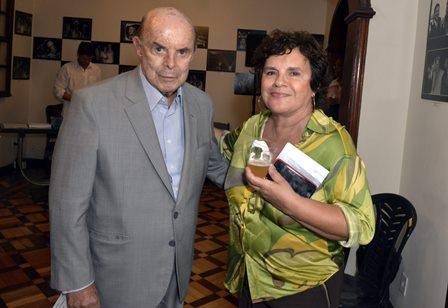 Francisco Dornelles e Gilda Mattoso