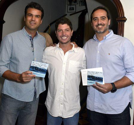 Pedro Otávio , Maurício Pessoa e Flavio Mundim
