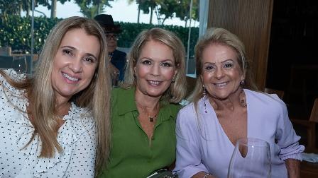 Denise Saud Uram, Angela Tavares, Zizi Baptista