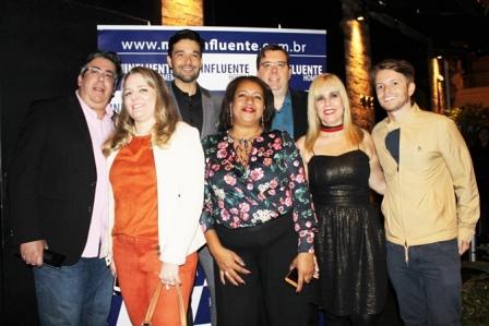 Diretores e Colunistas com o ator S+®rgio Marone