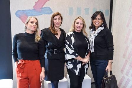 Fernanda Vieira Vera  Malagoli Fatima Richa   e Iolanda Vieira