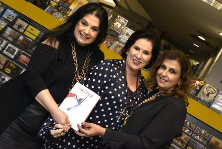 Heloísa Raso , Rita Mamede e Sylvia Ururahy