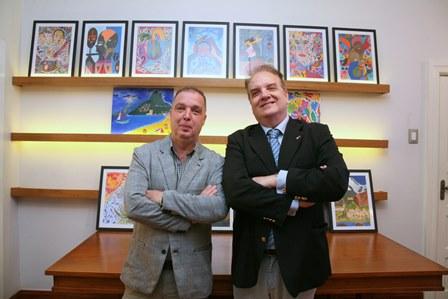 Bayard Boiteux e Rawlson de Thuin