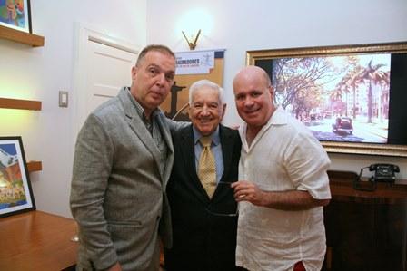 Bayard Boiteux, Francisco Horta e Eder Meneghine