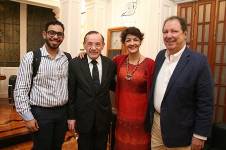 Gustavo Delesderrier, Sonia Mattos e Jose Hilario