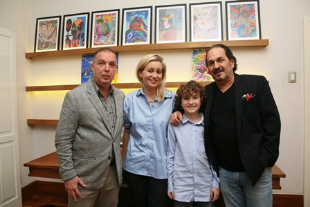 Bayard, Delphine, Luca e Philippe Seigle