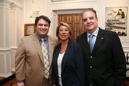 Claudio Castro, Angela Costa e Rawlson de Thuin