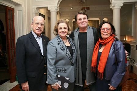 Claudio e Cristina Aboim, Marcio Alves, Nubia Millen