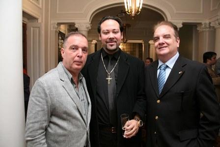 Bayard Boiteux, Diego Cosac e Rawlson de Thuin