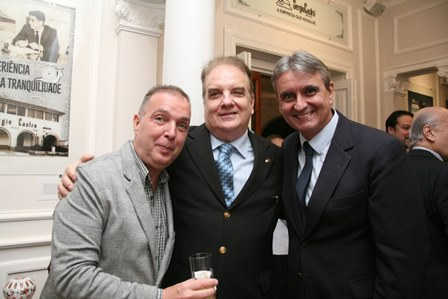 Bayard Boiteux, Rawlson de Thuin e João Pedro Figueira