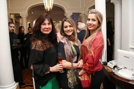 Olga Toledo, Jackeline Felix e Juliana Tenorio