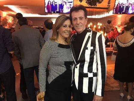 Jane Urbanetto com o Pitombo