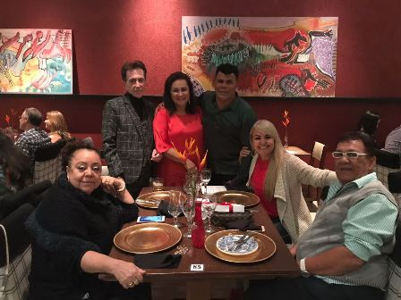 Lia Bernardes, Pitombo, Marinalva Rios, Djalma Ferreira, Roseane Goldinho e Cid Daltro no Vivas