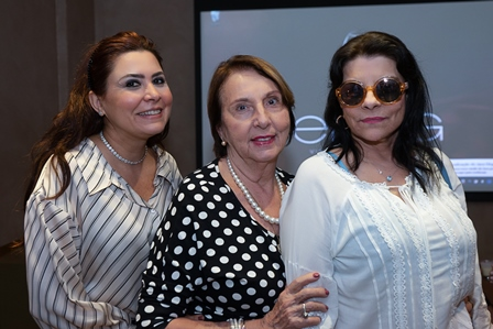 Luciana Franco, Shirley Mangoni, Rose May Addario