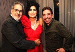 Luiz Villarino, Hanna e Claudio Cavas