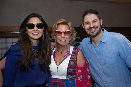 Mônika Nakamura, Viviane Cohen, Leonardo Guimarães