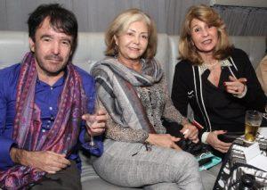 Marcio Gonçalves, Lourdes castilho e Carmen Lucia