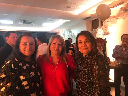Marinalva Rios, Maria Helena Rosas e Eliana Martins