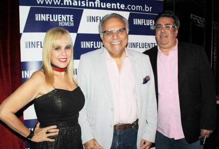Marisa Araujo, Franklin Toscano e Liberado Jr