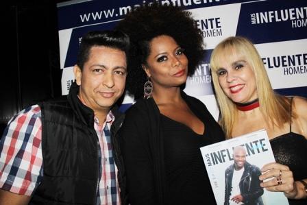 Michael Ferraz, Adriana Bombom e Marisa Araujo