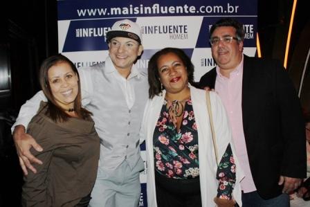 Monica Veiga, Olivier Costa, Cl+íudia Mastrange e Liberado Jr