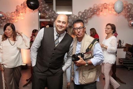Os fotógrafos Lula Jads e Marco Leão