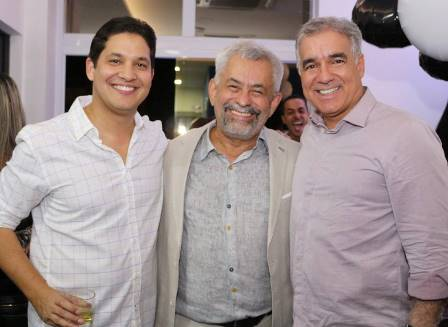 Rafael Cordeiro, Aurelio Dorea e deputado Zé Neto