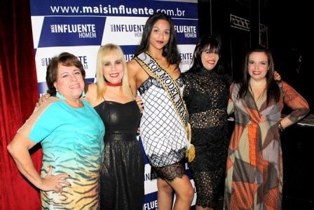 Regina C+®lia, Marisa Araujo, Hosana Elliot, Adelma Fonseca e Dani Sep+¦lveda