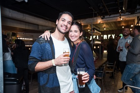 Renan Nicodemos e Bruna Albuquerque