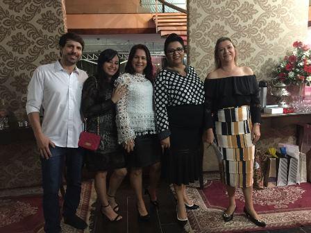 Rodrigo e Janaina Nogueira, Adriani Xavier e Rita Dórea