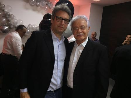 Silvio Pedra e Luciano Ribeiro