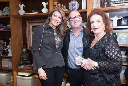 Sonia Chalfin Eduardo Chalfin e Eliana Moura -0106