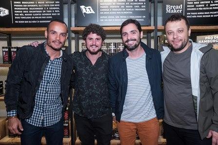 Thiago Tavares Andre Meisler  Joao Duayer e  Thomas Troisgros