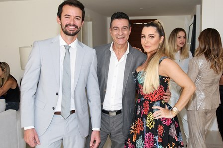 Alan Pierre, Xico Gonçalves e Erika Palmer