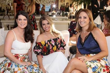 Fernanda Domecg, Fernanda Guedes e Claudia Adnet