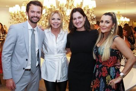 Alan Pierre, Nina Kauffmann, Marianna Nogueira e Erika Palmer