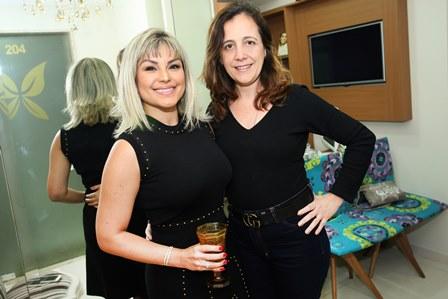 Dra Jessica Zarro e Maria Alice Nunes